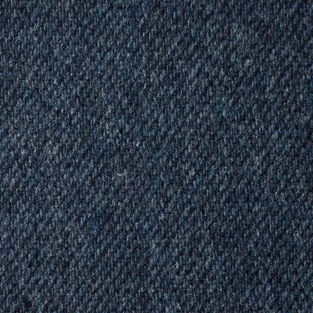 ウール&ポリエステル混×無地(ネイビーブルー)×サキソニー・ストレッチ イメージ1