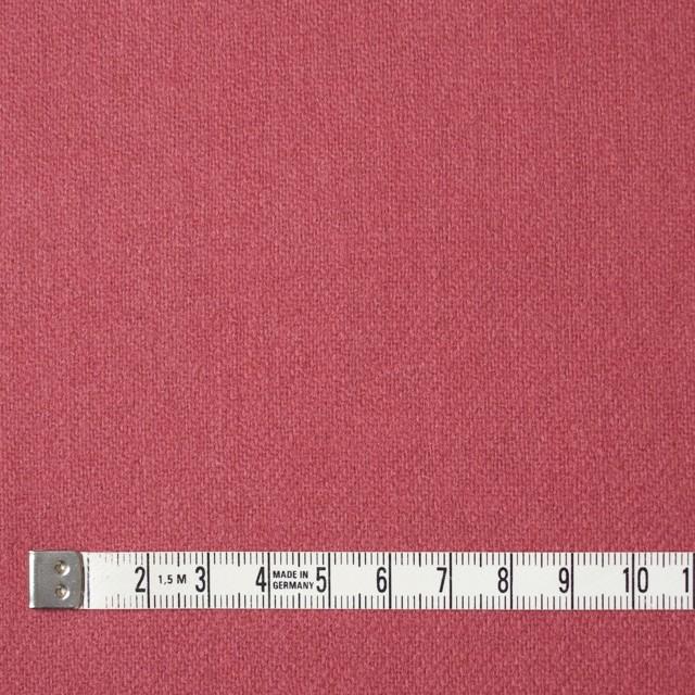 ウール×無地(ローズ)×かわり織 イメージ4