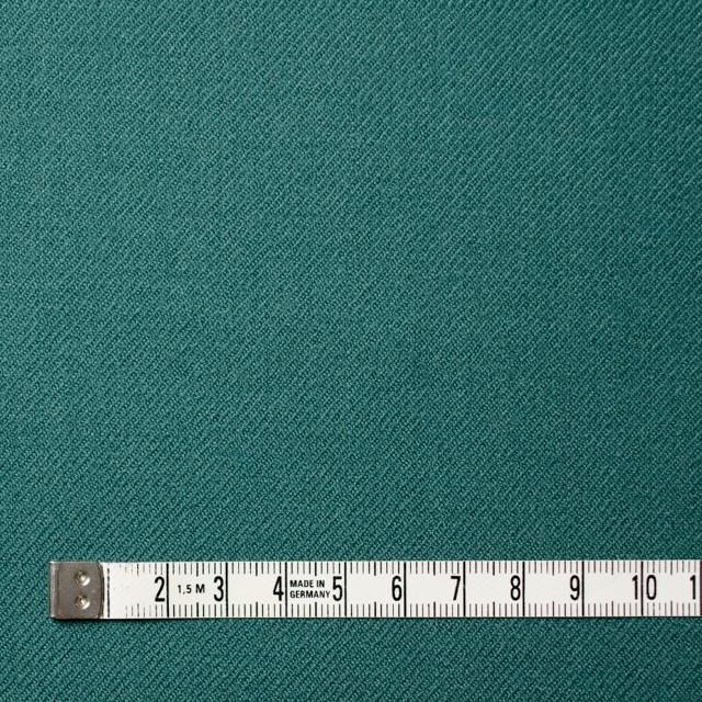 ウール×無地(スレートグリーン)×サージ イメージ4