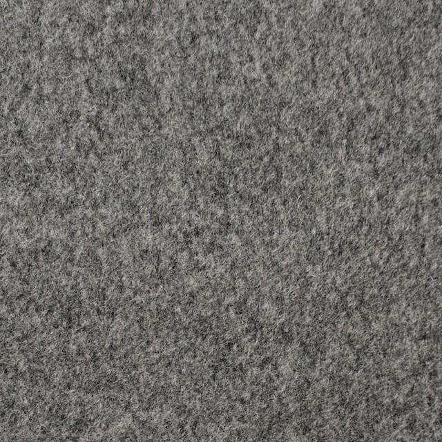 ウール×無地(グレー)×ビーバー イメージ1