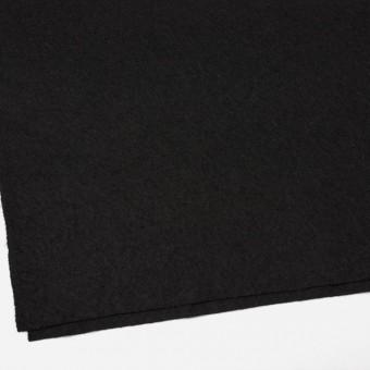 ウール×無地(ブラック)×圧縮天竺ニット_全3色 サムネイル2