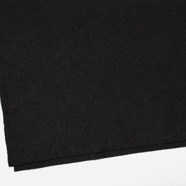 ウール×無地(ブラック)×圧縮天竺ニット_全3色 イメージ2