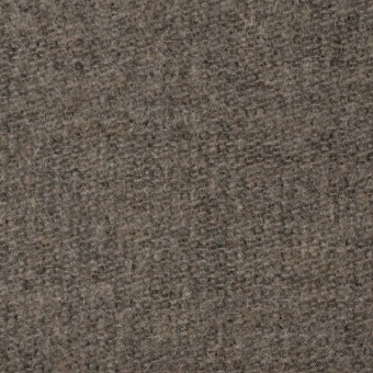 ウール&ポリエステル×無地(カーキベージュ)×かわり織_全2色 サムネイル1