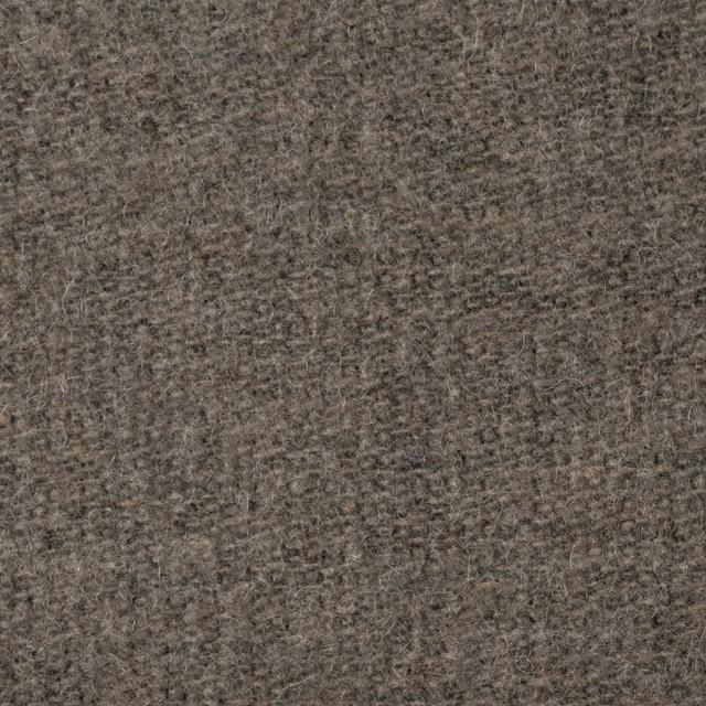 ウール&ポリエステル×無地(カーキベージュ)×かわり織_全2色 イメージ1