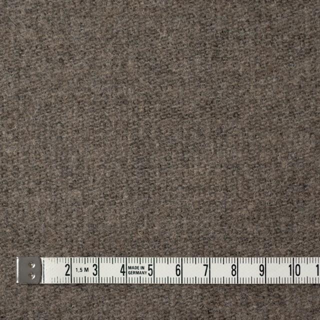 ウール&ポリエステル×無地(カーキベージュ)×かわり織_全2色 イメージ4