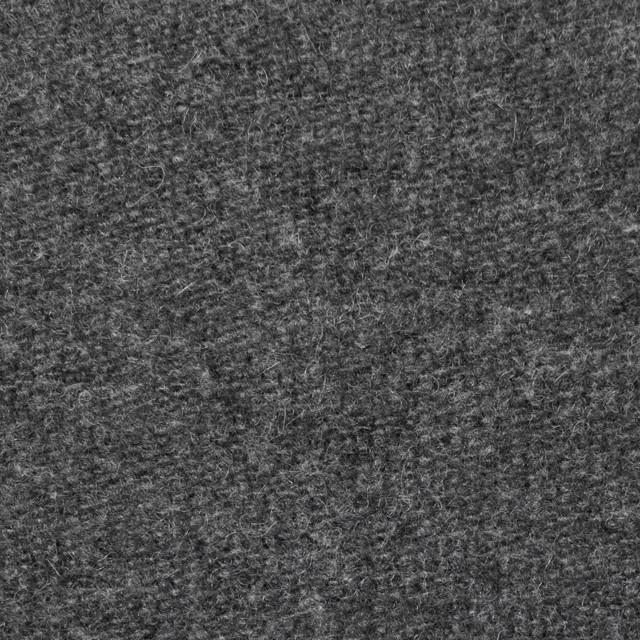 ウール&ポリエステル×無地(チャコールグレー)×かわり織_全2色 イメージ1