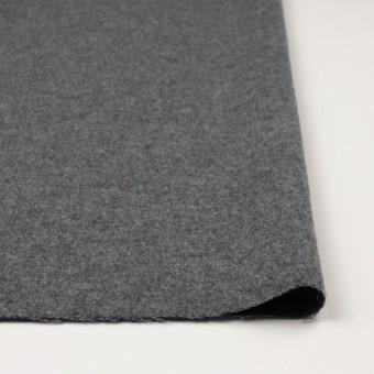 ウール&ポリエステル×無地(チャコールグレー)×かわり織_全2色 サムネイル3