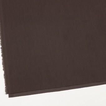 コットン&ポリノジック混×無地(ブラウン)×サージストレッチ_全2色 サムネイル2