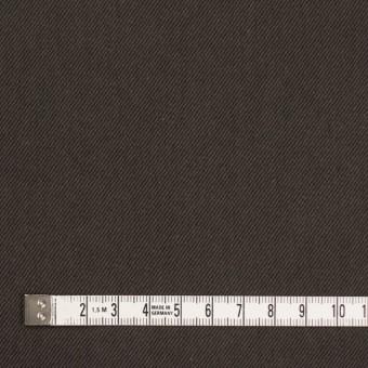 コットン&ポリノジック混×無地(アッシュブラウン)×サージストレッチ_全2色 サムネイル4