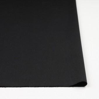 コットン&ポリノジック混×無地(ブラック)×サージストレッチ_全2色 サムネイル3