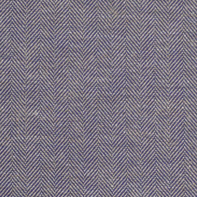 コットン×ミックス(ベージュ&ネイビー)×ヘリンボーン イメージ1
