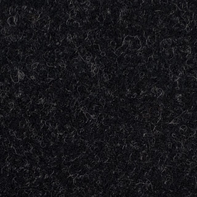 ウール×無地(チャコールブラック)×ツイード_イングランド製 イメージ1