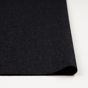 ウール×無地(チャコールブラック)×ツイード_イングランド製 サムネイル3
