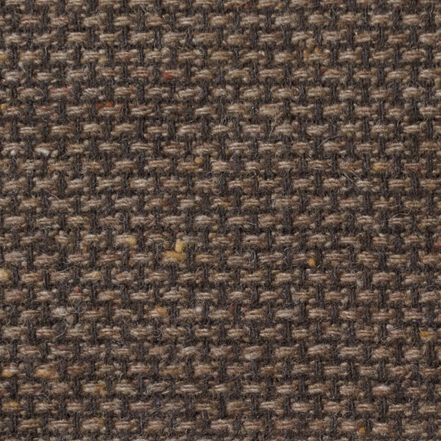 ウール×ミックス(ブラウン)×斜子織 イメージ1