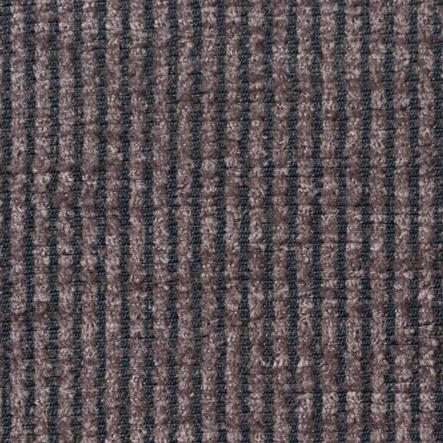 ポリエステル&レーヨン×ストライプ(グレイッシュパープル)×かわり織 イメージ1