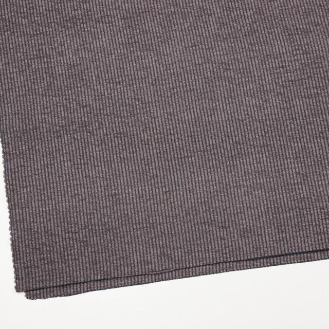 ポリエステル&レーヨン×ストライプ(グレイッシュパープル)×かわり織 イメージ2