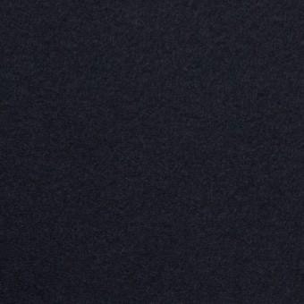 ウール&アンゴラ×無地(ダークネイビー)×フラノ(フランネル)