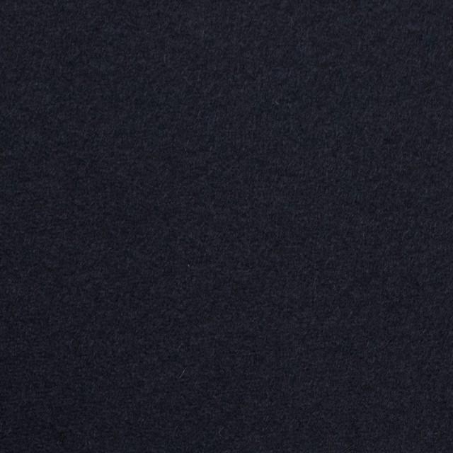 ウール&アンゴラ×無地(ダークネイビー)×フラノ(フランネル) イメージ1
