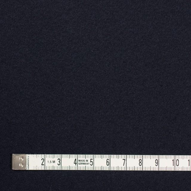 ウール&アンゴラ×無地(ダークネイビー)×フラノ(フランネル) イメージ4