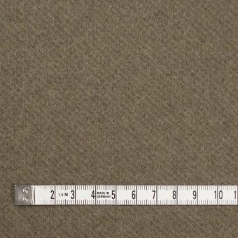 ウール&ナイロン×無地(カーキ)×カルゼ サムネイル4