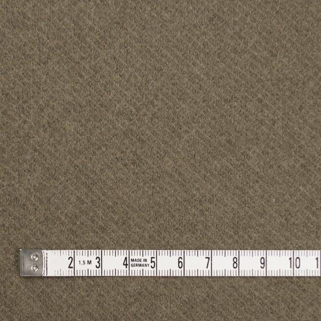ウール&ナイロン×無地(カーキ)×カルゼ イメージ4