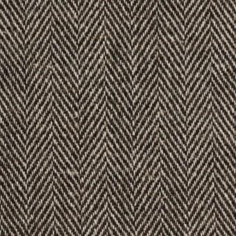 ウール&リネン混×ミックス(ベージュ&ブラウン)×ヘリンボーン サムネイル1