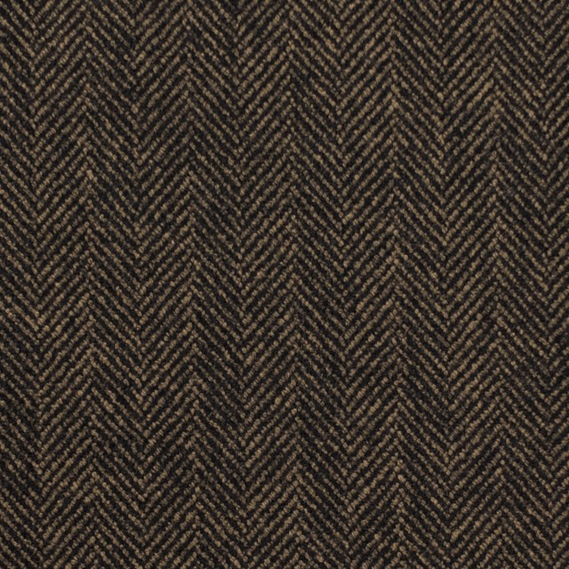 ウール&ポリエステル混×ミックス(キャメル&ブラック)×ヘリンボーン イメージ1