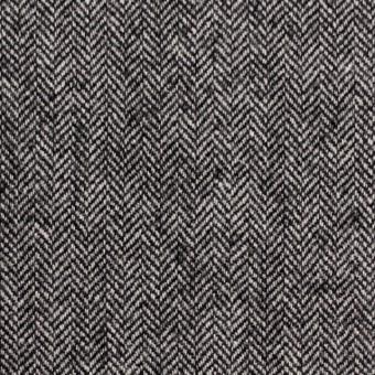 ウール×ミックス(アイボリー&ブラック)×ヘリンボーン サムネイル1