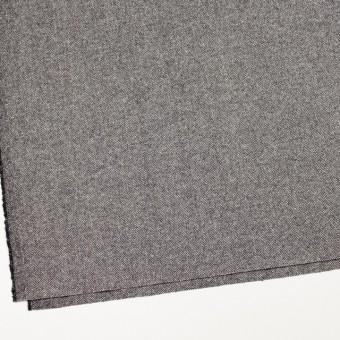 ウール&レーヨン混×ミックス(アイボリー&ブラック)×ヘリンボーン サムネイル2