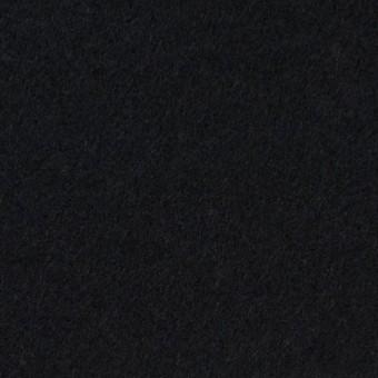 ウール&アンゴラ混×無地(ブラック)×フラノ(フランネル)