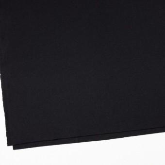 ウール&アンゴラ混×無地(ブラック)×フラノ(フランネル) サムネイル2