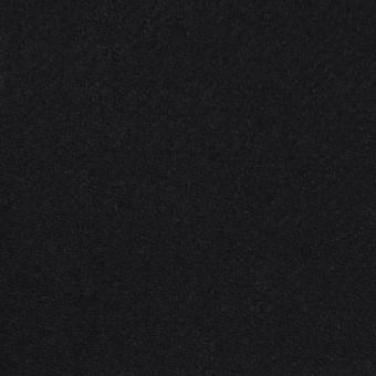 ウール×無地(ブラック)×カルゼ_イタリア製