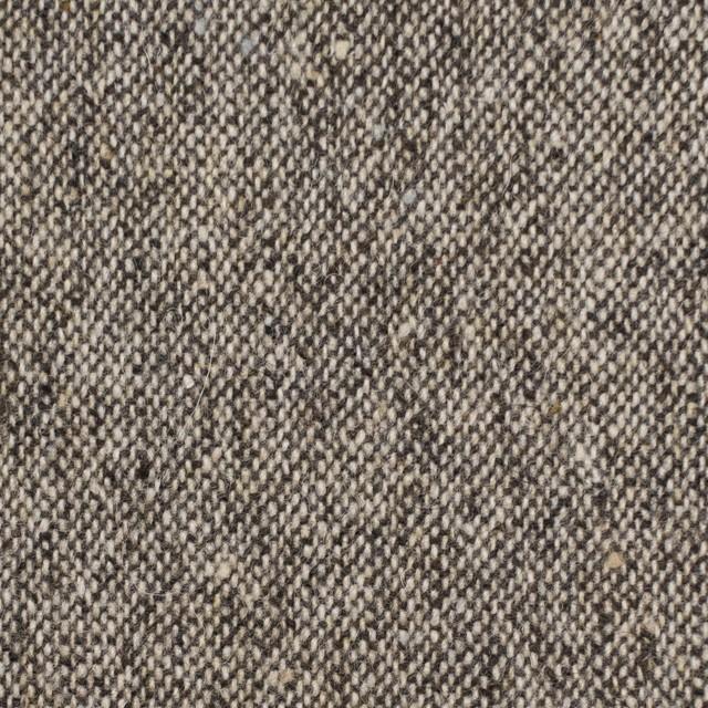 ウール&ポリエステル混×無地(ブラウン)×ツイードストレッチ イメージ1