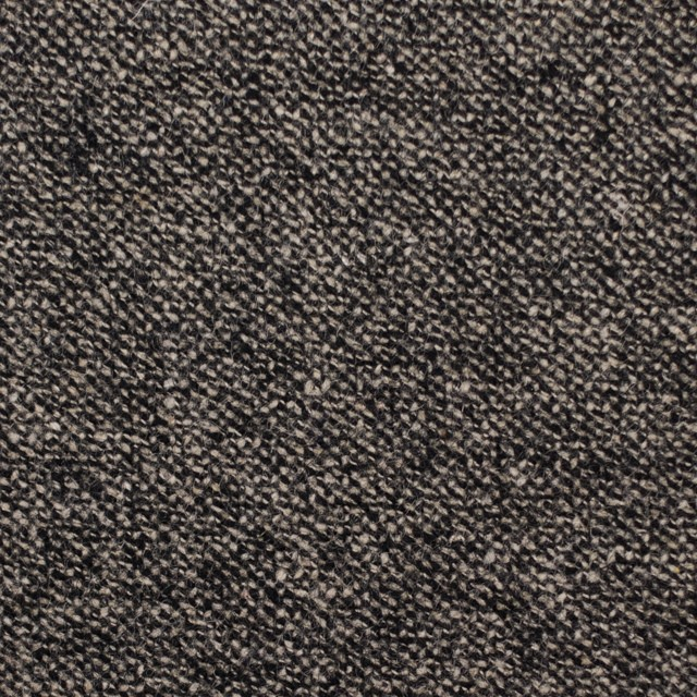ウール&ポリエステル混×ミックス(キナリ&ブラック)×ツイードストレッチ イメージ1