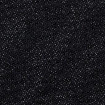 ウール&コットン×無地(ブラック)×ツイード サムネイル1
