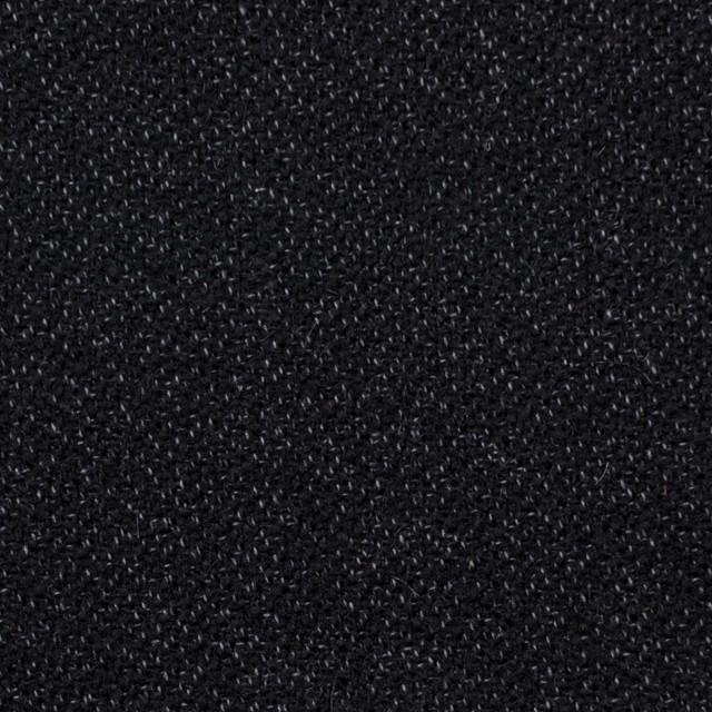 ウール&コットン×無地(ブラック)×ツイード イメージ1