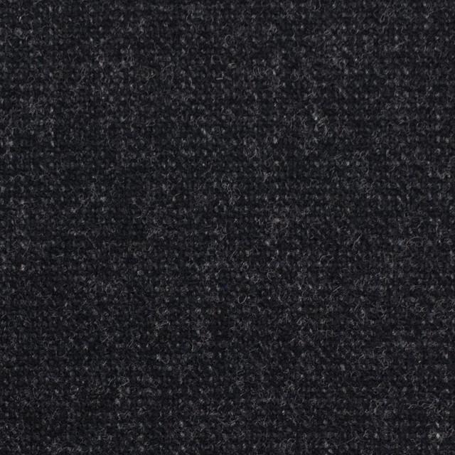 ウール&ポリエステル混×無地(チャコールブラック)×ツイード イメージ1