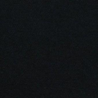 コットン×無地(ブラック)×裏毛ニット(裏面起毛)