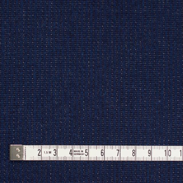 コットン&ポリエステル×無地(ネイビー)×デニム(裏面起毛) イメージ4