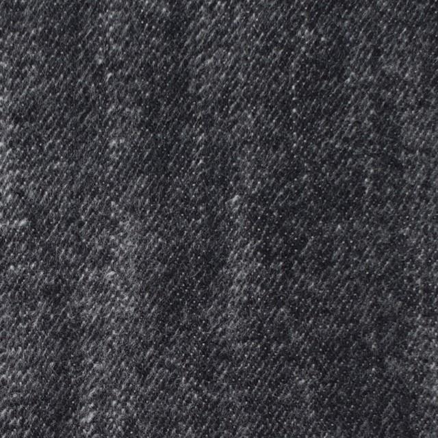 コットン×グラデーション(ブラック)×デニム イメージ1