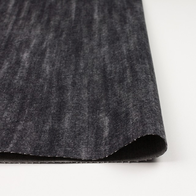 コットン×グラデーション(ブラック)×デニム イメージ3