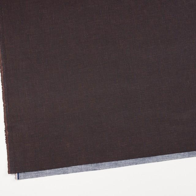 コットン×無地(ブロンズ)×デニム イメージ2