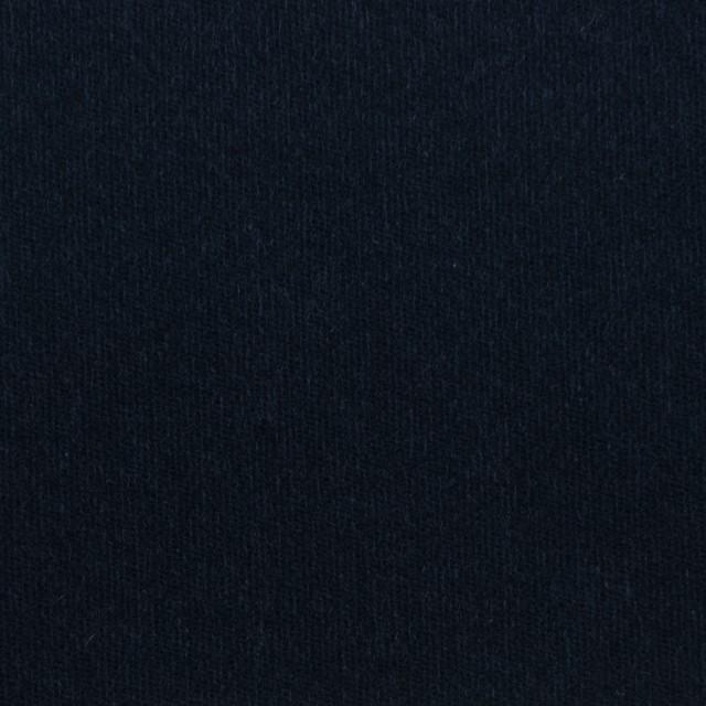 コットン&ポリウレタン×無地(ダークネイビー)×ベッチンストレッチ イメージ1