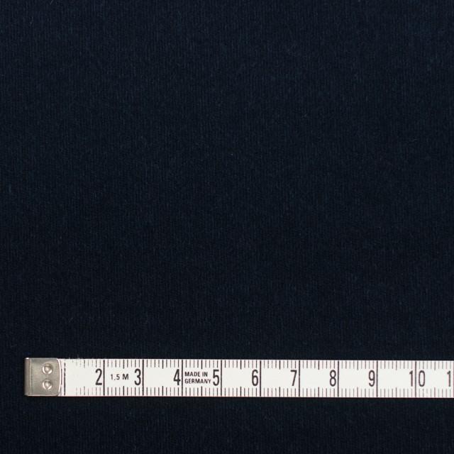 コットン&ポリウレタン×無地(ダークネイビー)×ベッチンストレッチ イメージ4