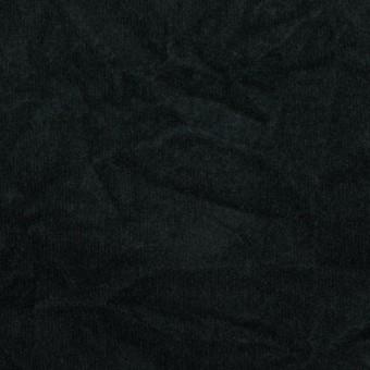 コットン&ポリウレタン×無地(ブラック)×ベッチンストレッチワッシャー