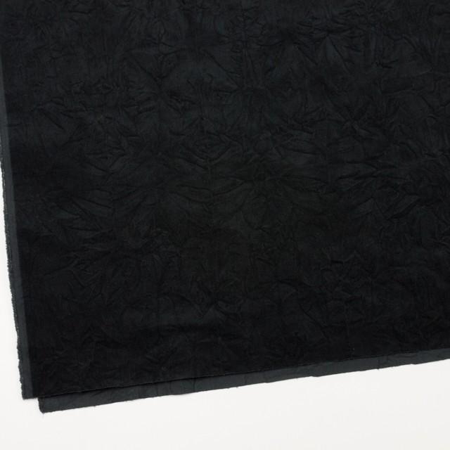 コットン&ポリウレタン×無地(ブラック)×ベッチンストレッチワッシャー イメージ2