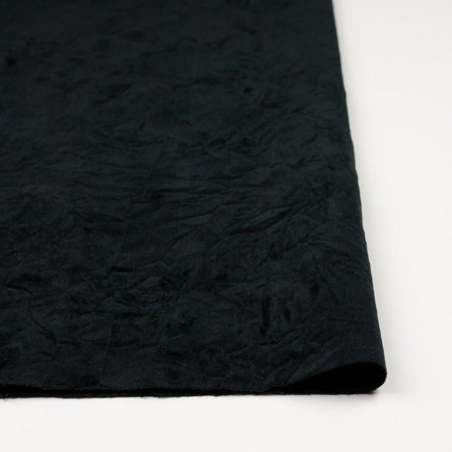 コットン&ポリウレタン×無地(ブラック)×ベッチンストレッチワッシャー イメージ3