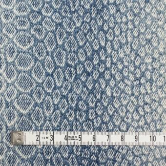 コットン×スネーク(ブルー)×デニム サムネイル4
