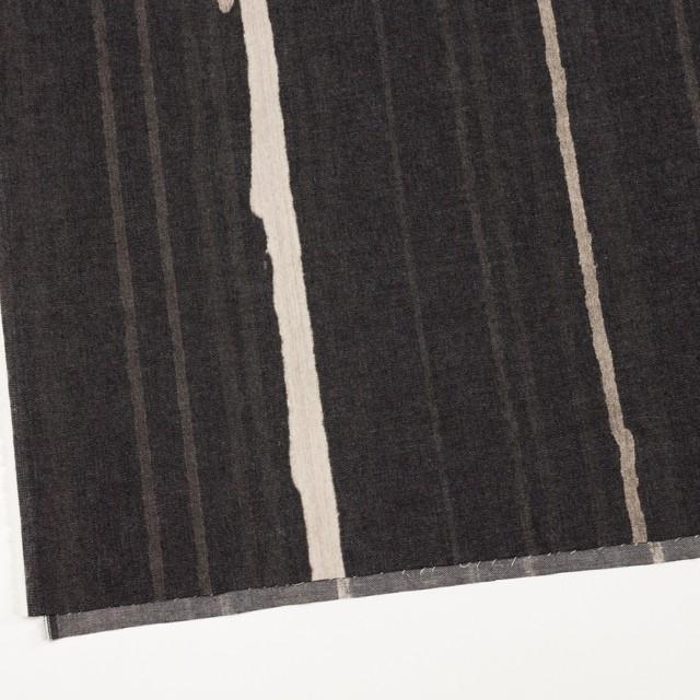 コットン×カリグラフィ(ブラック)×デニム イメージ2