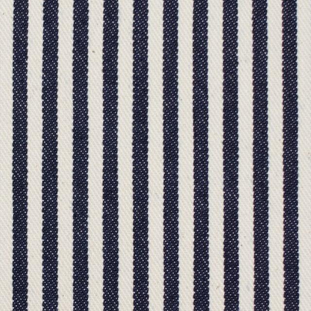 コットン×ストライプ(インディゴ)×デニムヒッコリー イメージ1